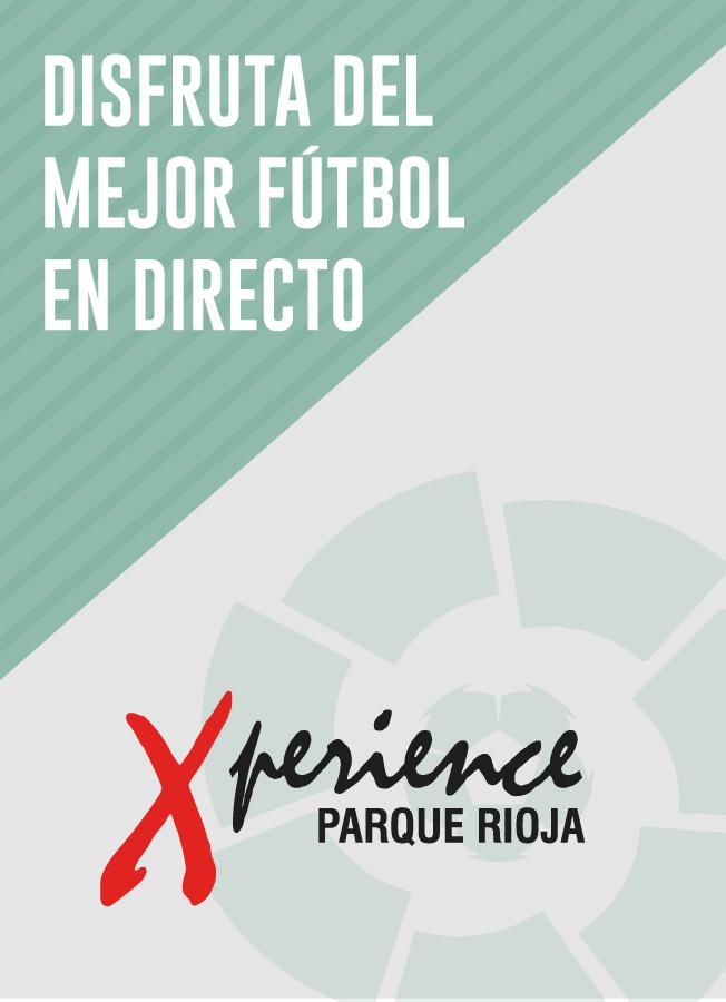 El mejor fútbol en Xperience Parque Rioja
